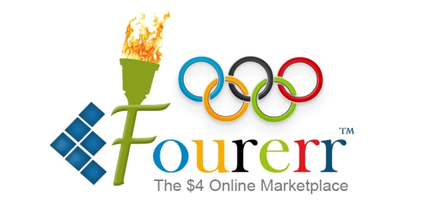 Fourerr - Olympic Games Logo