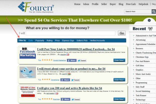 Fourerr - Filter