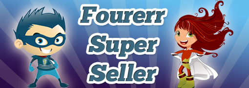 SweetKicker you are a Fourerr Top Seller