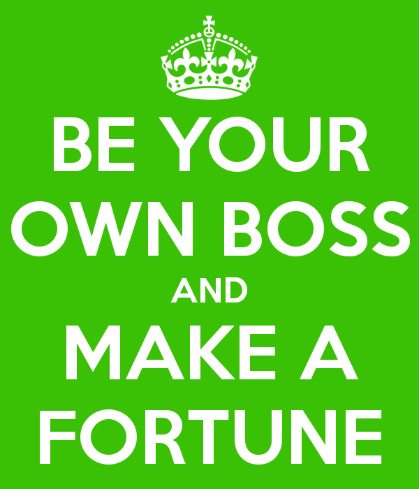 be your own boss: Frelancing
