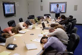 Boring Staff Meeting