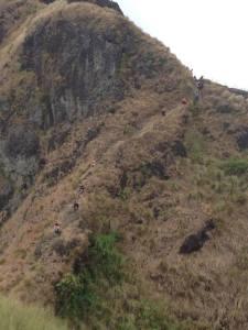 Descending - Mt. Batulao Old Trail