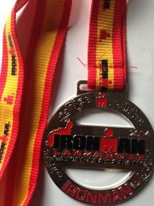 IM Lanzarote Medal