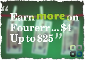 New Feature: Earn More … It's no longer $4!