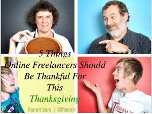 online freelancers thanksgiving